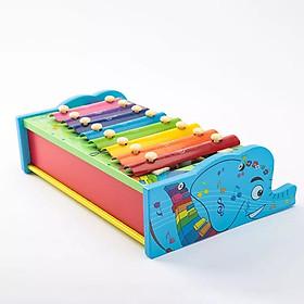 Đồ chơi tư duy - đồ chơi gỗ- đồ chơi an toàn cho bé - đàn piano gỗ MK00121