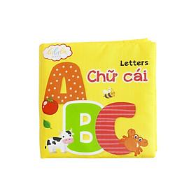 Sách vải song ngữ Lalala baby chủ đề Chữ cái Tiếng Việt