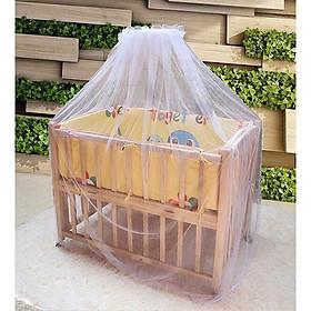 Bộ màn chùm nôi cũi chống muỗi cho em bé tiện lợi