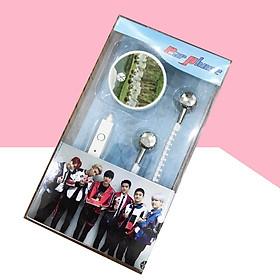 Máy nghe nhạc MP3 EXO tặng tai nghe khóa kéo chống rối