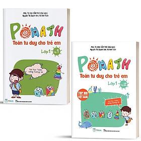 Sách - Combo Pomath Toán Tư Duy Cho Trẻ Em Lớp 1