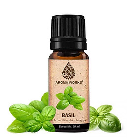 Tinh Dầu Húng Quế Aroma Works Essential Oils Basil