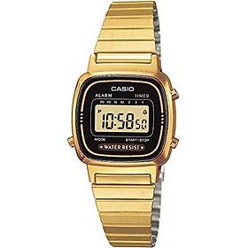 LA670WGA-1D Ladies Gold Tone Digital Watch RETRO