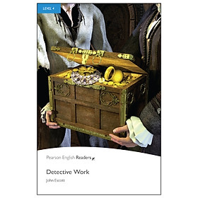 Level 4: Detective Work Book And MP3 Pack (Pearson English Graded Readers)