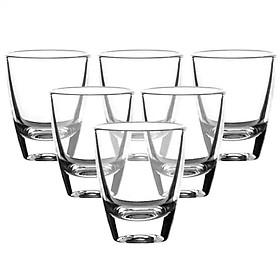 Bộ 12 Ly Rượu Thủy Tinh Dáng Bầu (33ML)