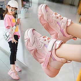 Giày thể thao bé gái và bé traicao cấp từ 3 - 16 tuổi siêu nhẹ đàn hồi kháng khuẩn kiểu dáng thời trang G25