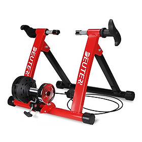 Foldable Magnetic Bike Trainer Stand Cycling Rack Indoor Bicycle Exercise Training Stand for 20-22 Inch / 26-28 Inch