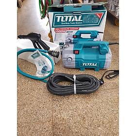 1500W Máy xịt rửa xe Total TGT11236 KÈM BÌNH CHỨA XÀ PHÒNG