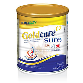 Sữa bột Wincofood GoldCare Sure 400g
