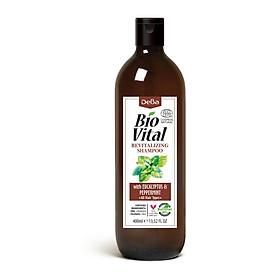 Dầu Gội Hữu Cơ Nhập Khẩu Phục Hồi Trị Gàu Deba Bio Vital Peppermint & Eucalyptus