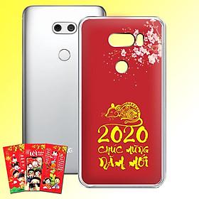 Ốp lưng điện thoại LG V30 - 01253 7967 HPNY2020 19 - Tặng bao lì xì Phát Tài Phát Lộc - Silicon dẻo - Hàng Chính Hãng