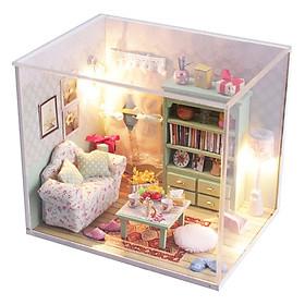 Hình đại diện sản phẩm Bộ Lắp Ráp Nhà Mini DIY Có Đèn LED