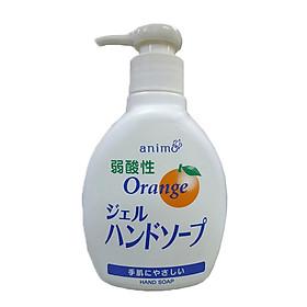 Dung dịch nước rửa tay Rocket hương cam 200ml nội địa Nhật Bản