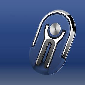 Giá đỡ điện thoại nhẫn đút ngón tay thoát khí cao cấp hình bầu dục nâng đỡ điện thoại, máy tính bảng và các thiết bị khác