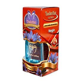 Hình đại diện sản phẩm Nhụy hoa nghệ tây Tashrifat Saffron Premium loại Negin sợi to (1 Grams)