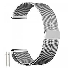 Dây đồng hồ 22mm lưới thép không gỉ dành cho đồng hồ Samsung Gear S3 Frontier Classic/Galaxy Watch 46mm