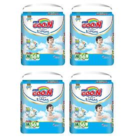 4 Gói Tã Quần Goo.n Premium Gói Cực Đại M56 (56 Miếng)