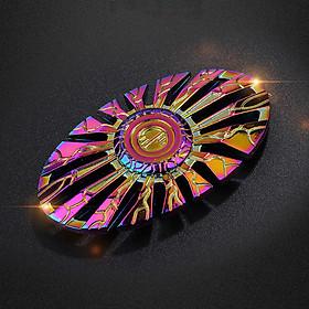 Con Quay Hand Fidget Spinner Oval mạ Titan 60-120 giây Legaxi HSCH