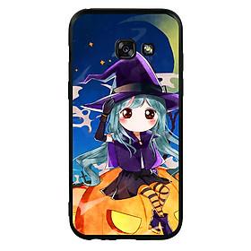 Hình đại diện sản phẩm Ốp lưng Halloween viền TPU cho điện thoại Samsung Galaxy A3 2017 - Mẫu 04