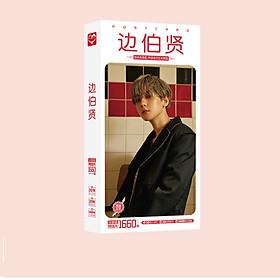 Postcard hộp bưu thiếp Baek Hyun EXO mới nhất 1660 tấm có hình dán