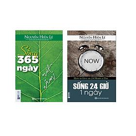 Combo 2 cuốn ; Sống 365 ngày 1 giờ +Sống 24 giờ 1 ngày