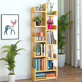 Kệ tủ giá sách bằng gỗ hình cây, dùng để đựng sách vở và trang trí phòng. Hàng lắp ráp thông minh, đa năng, dễ dàng vận chuyển.