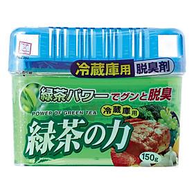 Hộp Khử Mùi Tủ Lạnh Hương Trà Xanh Kobini Nhật Bản (150g)