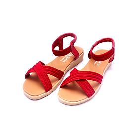 Giày sandal nữ quai chéo thời trang T020K35