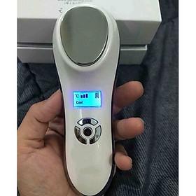 Máy Điện Di Nóng Lạnh  Massage Mặt