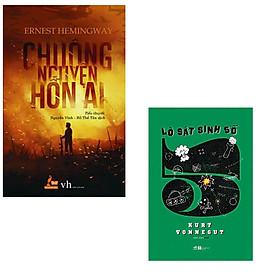 [Download sách] Bộ 2 cuốn tiểu thuyết kinh điển về đề tài phản chiến: Chuông Nguyện Hồn Ai - Lò Sát Sinh Số 5