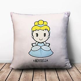 Gối Ôm Vuông Công Chúa Cinderella GVCT726 (36 x 36 cm)
