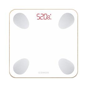 Cân điện tử FG265RB-Bluetooth, Cân kỹ thuật số Cân đo thành phần cơ thể .Máy phân tích sức khỏe có thể sạc với USB