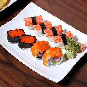 HN - Buffet lẩu hải sản sushi thượng hàng chuẩn vị Nhật Bản tại Nhà hàng Nijyu Maru - Áp dụng cả tuần