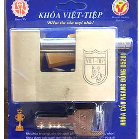 Ổ khóa cầu ngang đồng Việt Tiêp - 05206 cao cấp, cực kì chắc chắn