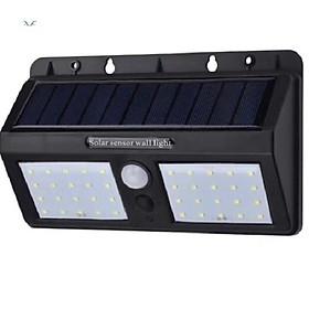 Đèn gắn tường năng lượng mặt trời chống trộm
