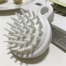 Lược gội đầu Silicone Nhật Bản - Massage xa da đầu - Giảm rụng tóc - Kích thích mọc tóc