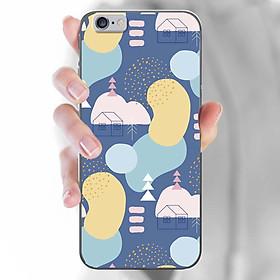Ốp lưng dành cho iPhone 5, iPhone 5S, iPhone SE  mẫu Hoạ tiết nhà