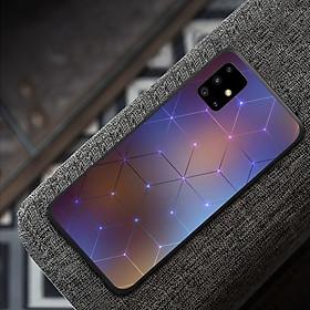 Ốp điện thoại dành cho máy Samsung Galaxy A51 - Hình khối MS ABMHA002