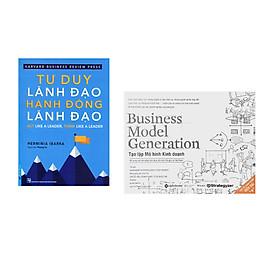 Combo 2 cuốn sách: Tư Duy Lãnh Đạo - Hành Động Lãnh Đạo + Tạo Lập Mô Hình Kinh Doanh
