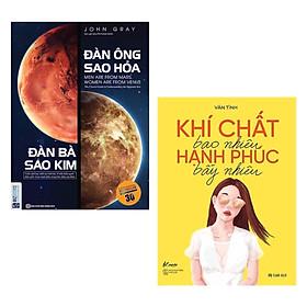 Combo Sách Kỹ Năng Để Bạn Trở Thành Người Phụ Nữ Khôn Khéo: Đàn Ông Sao Hỏa Đàn Bà Sao Kim + Khí Chất Bao Nhiêu, Hạnh Phúc Bấy Nhiêu / Sách Tư Duy - Kỹ Năng Sống (Tặng Kèm Bookmark Happy Life)