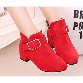 Giày Boot ( cao cấp )  cho bé gái phong cách hàn quốc - BBS07