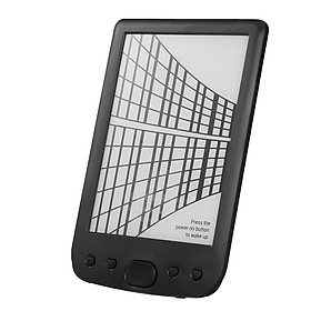BK-6025 Portable e-Book Reader 8GB E-Ink 6inch Multifunction E-Reader 800*600 High Resolution Display Screen 300DPI