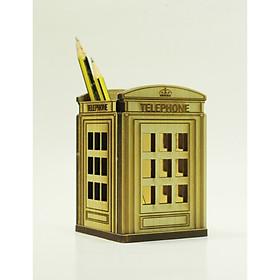 Ống Bút hình bốt điện thoại London (Telephone Box)