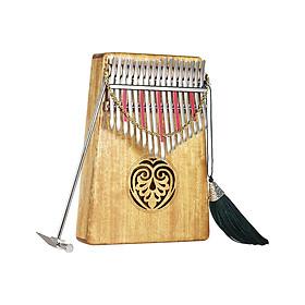 Đàn Kalimba Mbira 17 Phím ammoon (Kèm Túi Đựng + Sách Nhạc + Bộ Miếng Dán Nốt)