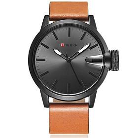 Hình đại diện sản phẩm CURREN Men Analog Watch 30m Waterproof Imitation Band Quartz Watches