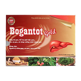 Bổ Gan Giải Độc Gan Bogantot Gold