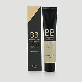 Kem nền trang điểm BB che khuyết điểm chống nắng SPF50+PA+++ xuất xứ Hàn Quốc Natinda Real Magic Cover Sun BB Cream 50g