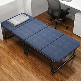Giường gấp gọn     Giường xếp ngủ trưa văn phòng khung sắt sơn tĩnh điện khổ lớn chịu lực tốt