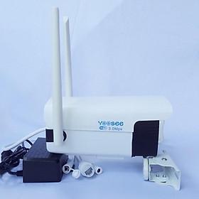 Camera YOOSEE -Ip mini 3.0 Thân -Wifi trong nhà ngoài trời IP110 Full HD1080 2 LED cảm biến,4 led quay đêm - Hàng Nhập Khẩu