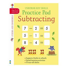 Usborne Key Skills Practice Pad: Subtracting 5-6